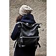 Большой кожаный рюкзак Voyager , фото 10