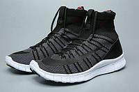 Женские кроссовки Nike Free Flyknit Mercurial черные