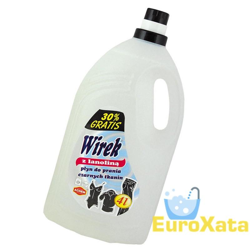 Гель для стирки Wirek Black Lanolin (4 л)