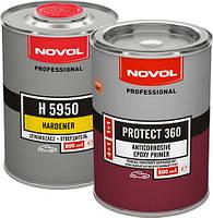 NOVOL PROTECT 360 - ЭПОКСИДНЫЙ АНТИКОРРОЗИЙНЫЙ ГРУНТ 0.8л.+ 0,8л.