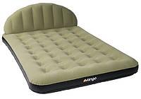 Комфортный надувной матрас Vango Airhead Double 212x137 Green 923239 зелёный