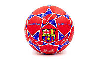 Мяч футбольный №5 Гриппи 5сл. BARCELONA FB-0047-329 (№5, 5 сл., сшит вручную)