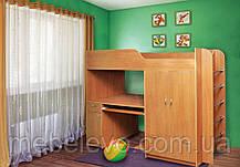 Кровать двухъярусная Дуэт 1  1600х730х2080мм  70х190 Пехотин, фото 3