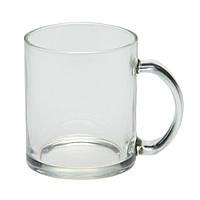 Чашка стеклянная Фрост. Для нанесения логотипа методом обжиговой деколи, фото 1