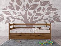 Деревянная кровать Амели