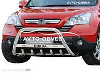 Кенгурятник для Honda CR-V 2006-2012 с лого (AISI304)