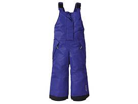 Зимние лыжные штаны фиолетовые Lupilu р.86/92