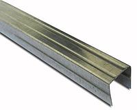 Профиль для гипсокартона направляющий потолочный UD 28 x 27 x 3000 мм