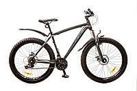 """Велосипед 26"""" Formula BLIZZARD AM 14G DD рама-19"""" St черный (м) с крылом Pl 2017"""