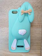 Чехол силиконовый Moschino 3D для iPhone 6/6s