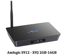 X92 TV Box Smart TV Amlogic S912  2/16Gb 4K Android 6.0