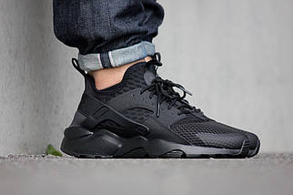 Мужские кроссовки Nike Air Huarache Run Ultra BR Black, фото 3