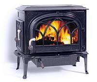 Чугунная печь камин Jotul F 500 BBE(сине-черная эмаль)-9 кВт