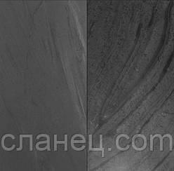 Сланец чёрный 60х30х1 см