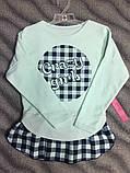 Реглан-туника для девочек 134 см, фото 2