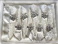 Сктерть с салфетками и держателями в подарочной коробке 150х220 (Kol-S01)