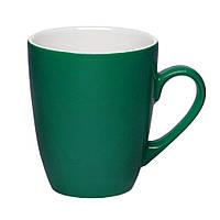 Чашка керамическая Куин. Цвет - зеленый. Для нанесения логотипа методом обжиговой деколи, фото 1