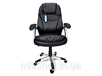 Кресло офисное массаж Thornet (черное)