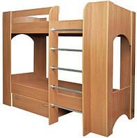 Пехотин  кровать двухъярусная Дуэт 2 1600х880х1930мм  70х190