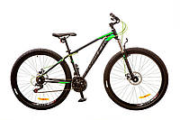"Велосипед 29"" Formula DRAGONFLY AM 14G DD рама-16"" St черно-зеленый 2017"