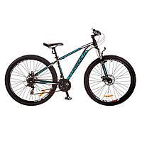 """Велосипед 29"""" Formula DRAGONFLY AM 14G DD рама-16"""" St черно-бирюзовый (м) 2017"""