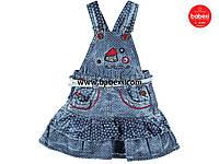 Джинсовый сарафан для девочки 2 года.Турция!Платье, сарафан джинсовый!Джинсовая одежда на девочку
