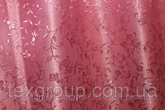 Штора Ландыш розовая 2,80м, фото 3
