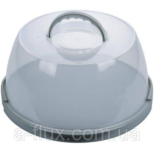 Витрина пластиковая круглая с ручкой