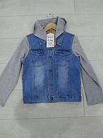 Подростковая джинсовая курточка для мальчиков GRACE