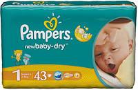 Памперсы Pampers New Baby Dry Newborn 1