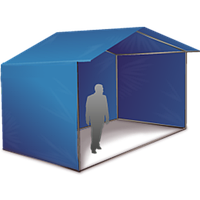 Торговая палатка 3х2 м