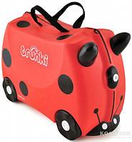 Детский чемоданчик на колесах Trunki Harley Ladybug