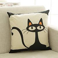 "Декоративная подушка ""Black cat"""
