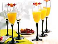 Набор бокалов для шампанского Luminarc Domino 6 шт 170 мл