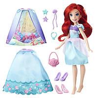 Принцессы Диснея Ариэль с красивыми нарядами Princess Layer n Style