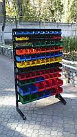 Стелаж для метизних ящиків односторонній 1500мм 93 ящика,Стеллаж для метизных ящиков односторонний 1500мм