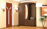 """Шкаф с вешалкой и зеркалом в прихожую """"Вита 2"""""""