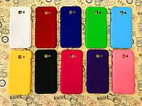 Чехол накладка бампер для Samsung Galaxy A7 2017 Duos SM-A720 (10 цветов)