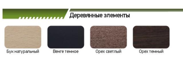 Деревянные элементы (для дивана на цоколе)