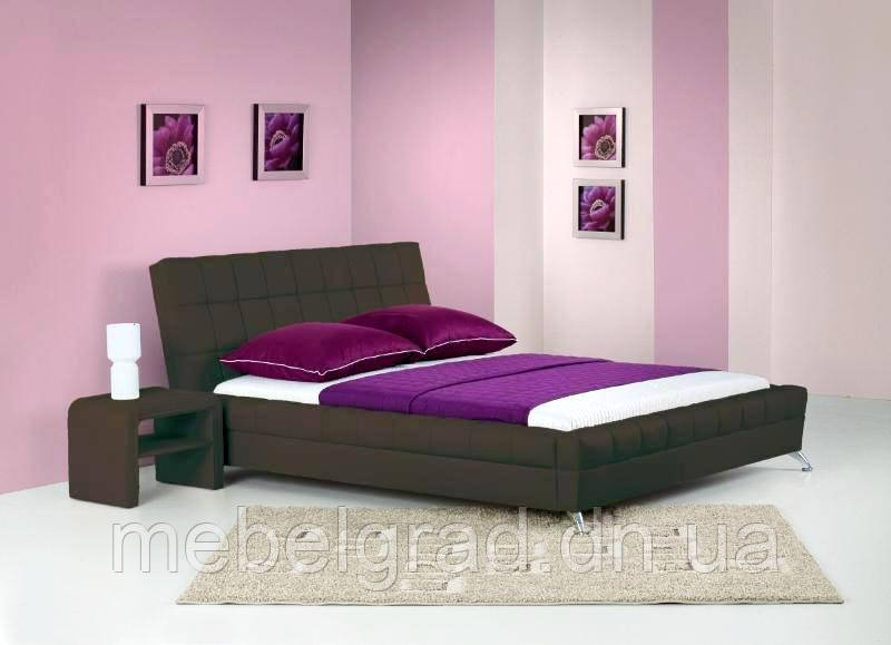 Кровать двухспальная Bonita / Бонита Halmar коричневый