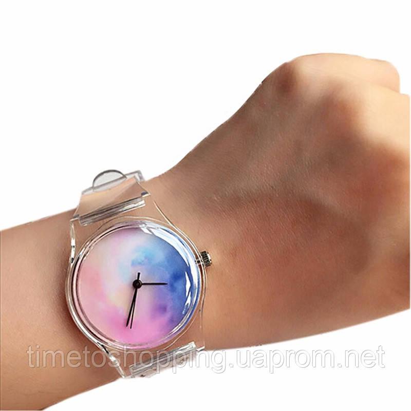 Наручные женские часы силиконовые