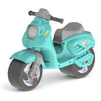 Каталка-толокар «Скутер» 502 Орион, бирюзовый