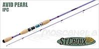 Удилище спиннинговое St.Croix Avid Pearl Rod 198 см 3.5-10.5 гр 4-10lb Fast
