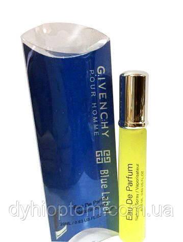Парфюм мужской 20ml Givanchy pour Homme Blue Label men оптом