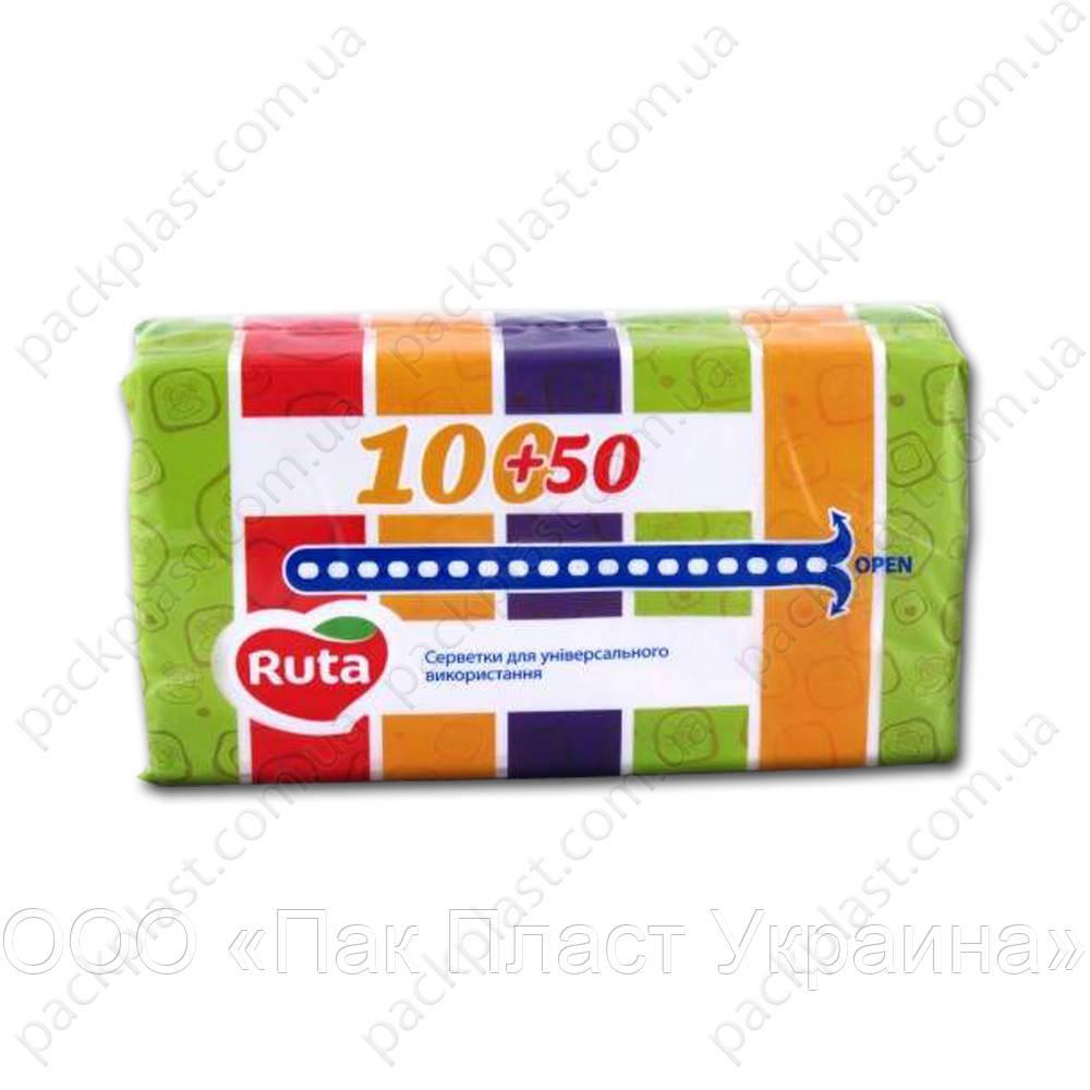 Салфетки косметические Ruta Декор 150 листов - ООО «Пак Пласт Украина» в Днепре