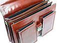 Портфель из натуральной кожи Rovicky AWR-5-1 коричневый, фото 10