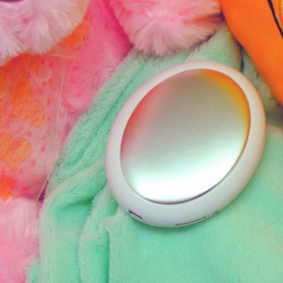 Портативный USB обогреватель для рук с дисплеем XHC-L023