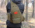 Сумка(подсумок) тактическая,поясно-плечевая Protector Plus A005, фото 3