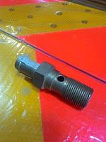 Штуцер шланга радиатора масл.длинный 3308,33081(пр-во ГАЗ)длинный
