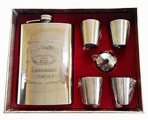 Набір для віскі з флягою Jack Daniels
